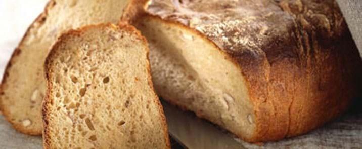 Grovbrød med nødder
