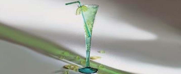 Grøn is-drik