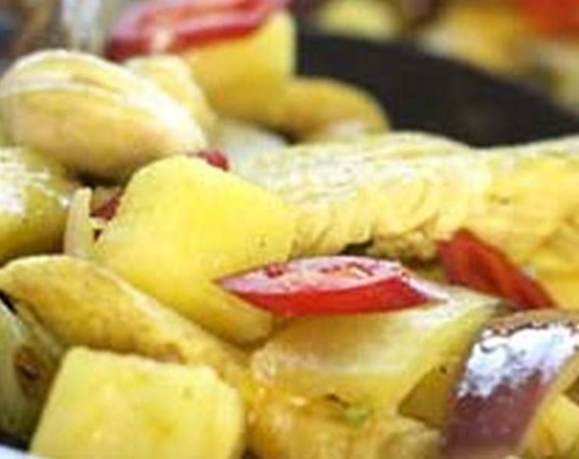Kylling med ananas