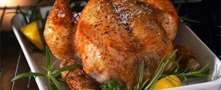 Kylling med hvidløg og spidskålssalat