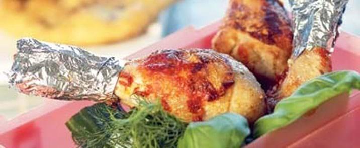 Kyllingelår med sød chili