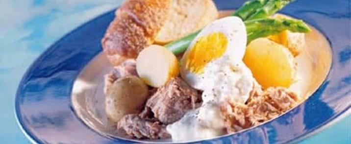 Aioli til tun og kartoffelfad