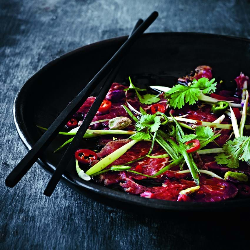 Asiatisk carpaccio