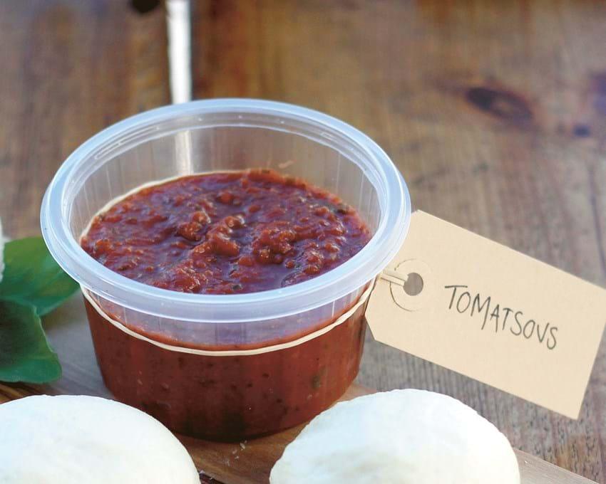 En god frisk tomatsovs