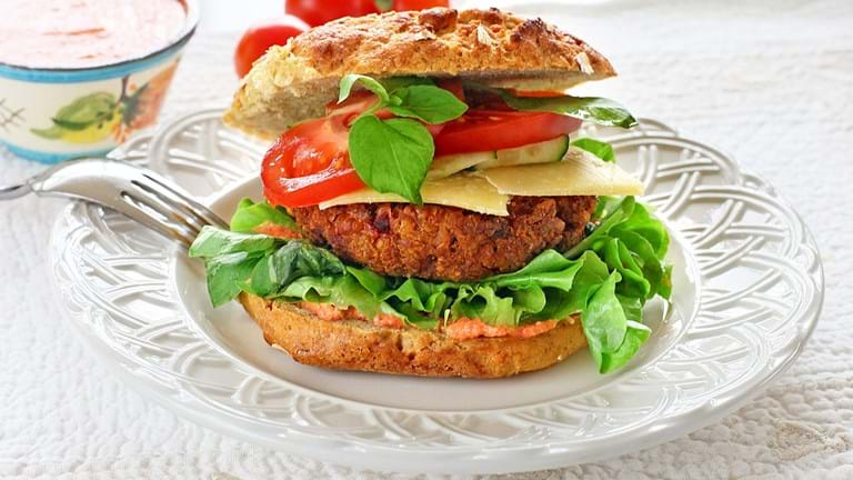 Glutenfri burger