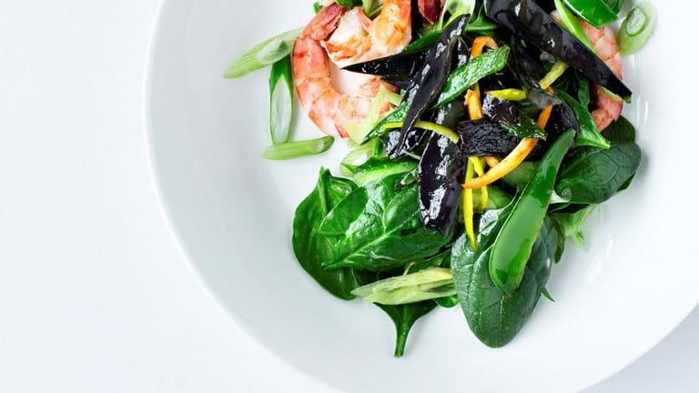 Thairejer og grøntsager