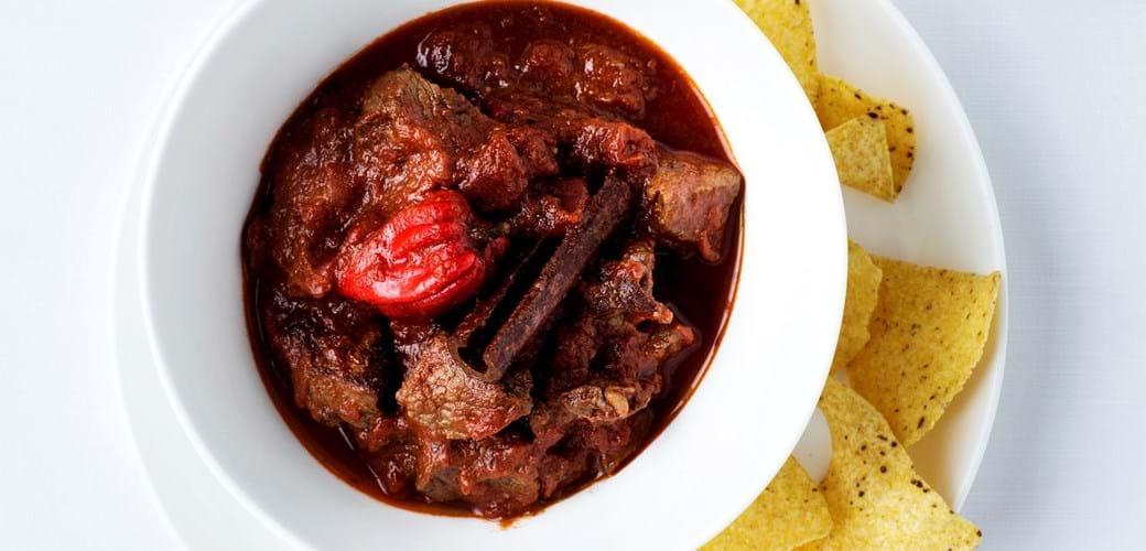 Mexicansk oksekødsgryde