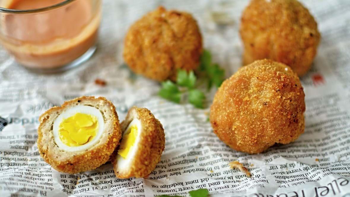 Skotske æg