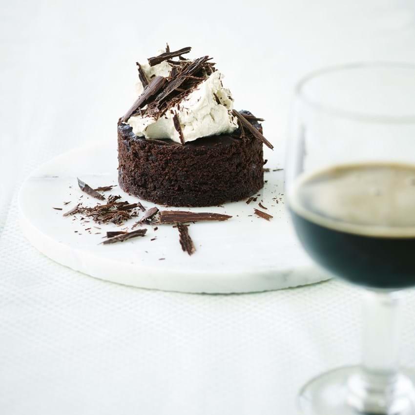 Chokoladekage med porter