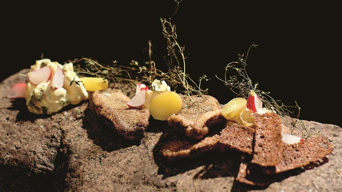 Fiskefilet med grov kartoffelremoulade