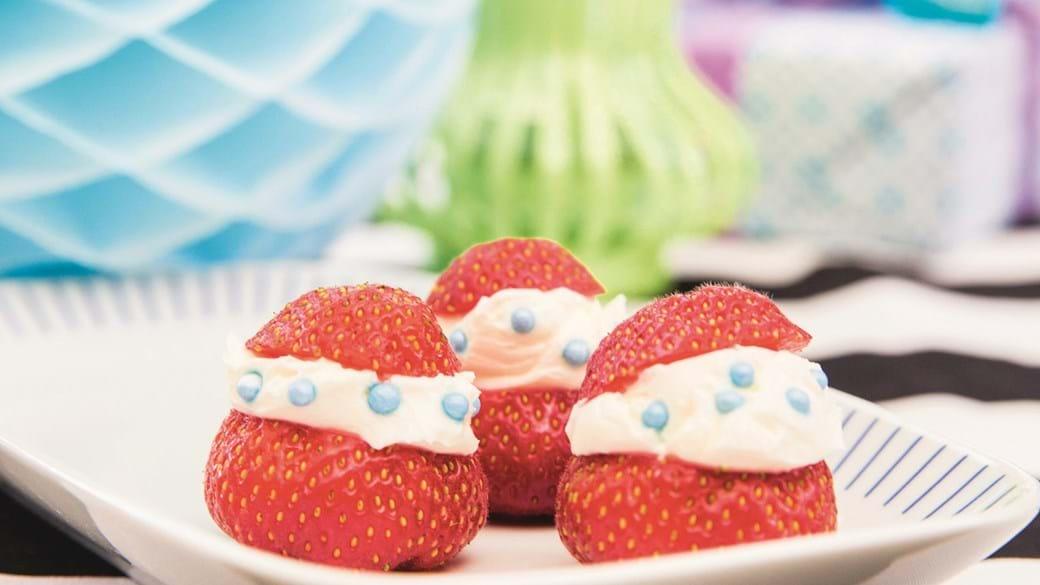 Fyldte jordbær