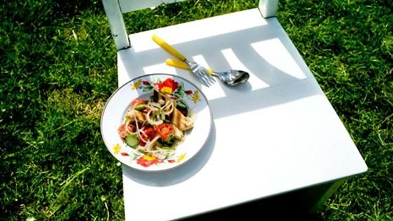 Fattoush - Brød- og grøntsagssalat fra Libanon