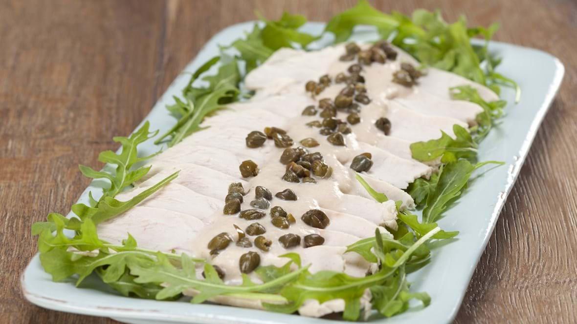 Tacchino tonnato/Kold kalkunbryst med tunsauce