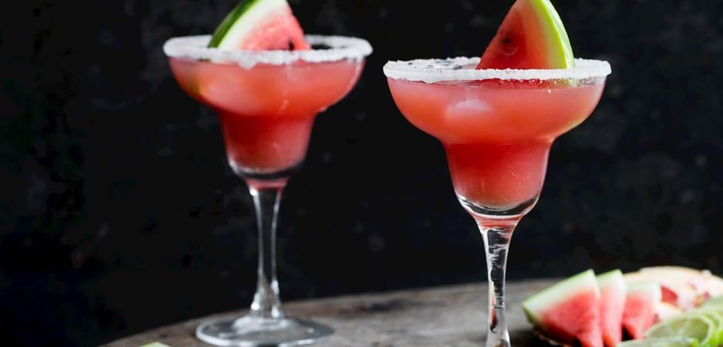Melon og grapefrugt-margarita