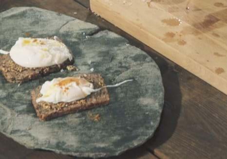 Holms kokkeskole: Porcheret æg