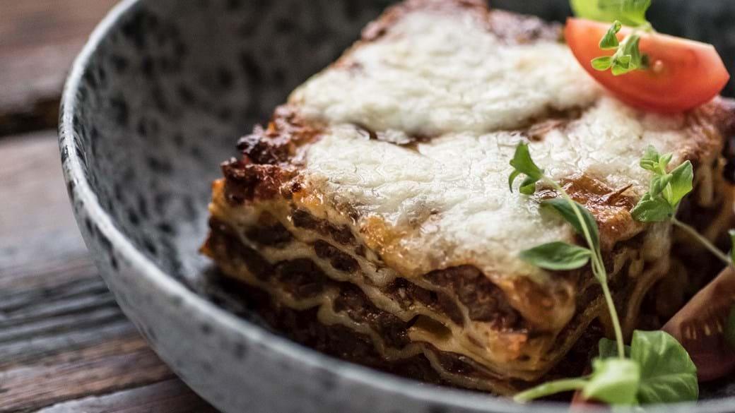 Klassisk lasagne lavet fra bunden