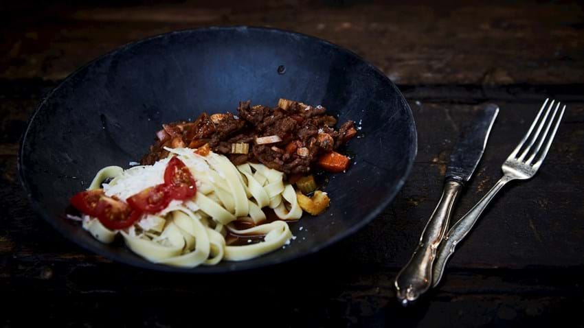Luksus: Spaghetti bolognese