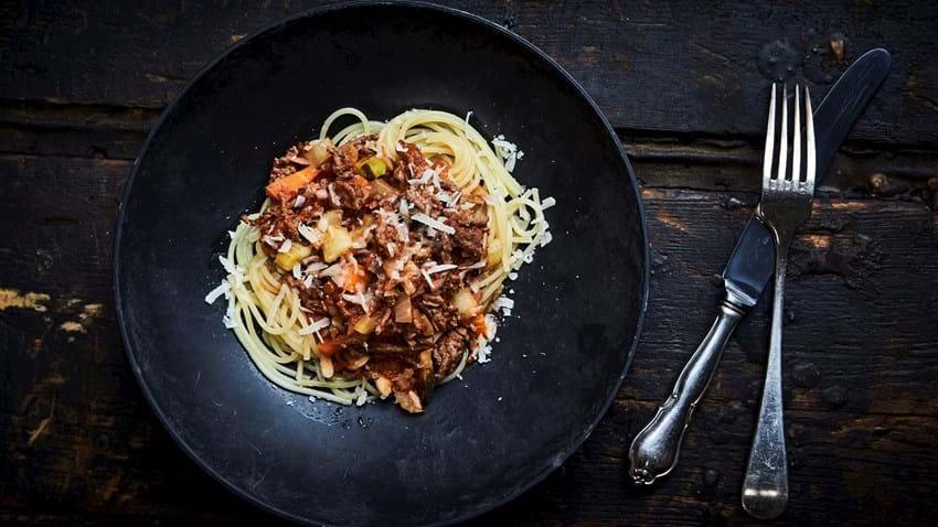 Klassisk: Spaghetti bolognese