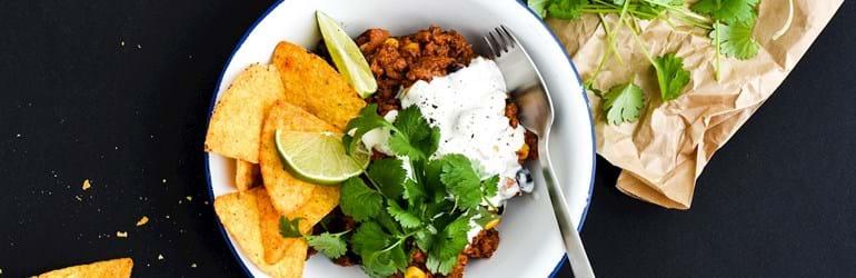 Chili sin carne - med plantefars