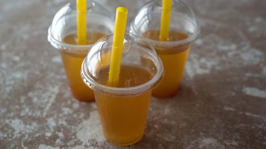 Bubbletea med hyldeblomst og citron