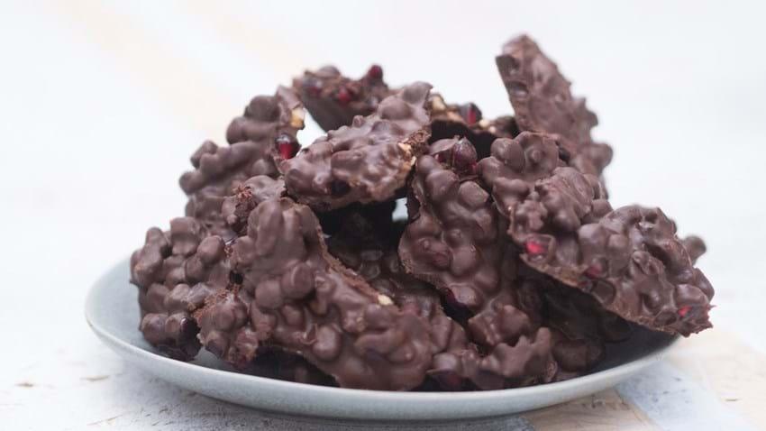 Chokolade med granatæble