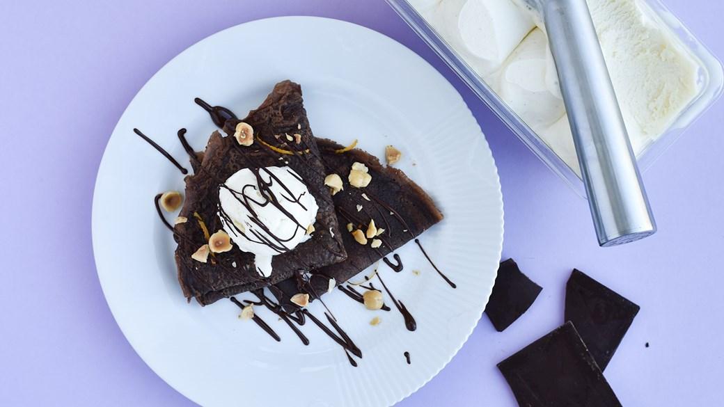 Chokoladepandekager